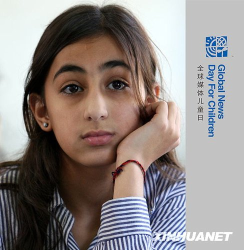 组图:巴勒斯坦女孩的世界