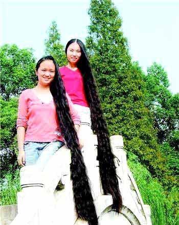 世界头发最长的人(图解) - 淡然心静(大益茶友会) - 淡然心静 细品佳图片