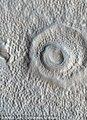英媒公布火星美景