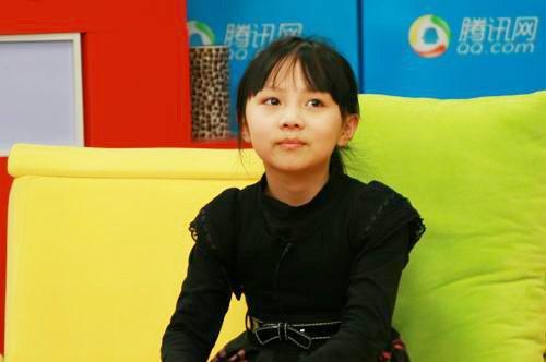 闪亮童星阵-奥运小童星杨沛宜访谈实录_腾讯儿