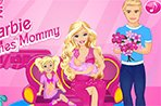 芭比娃娃生小宝宝