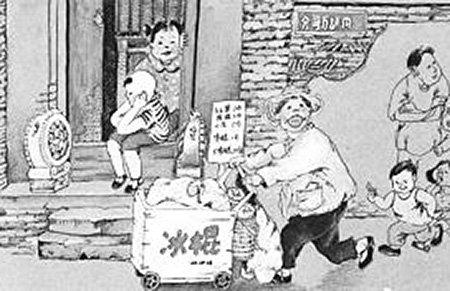 青岛8岁男子汉桑拿天卖冰棍养家