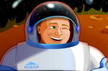 营救宇航员