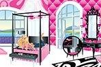 芭比的粉色卧室