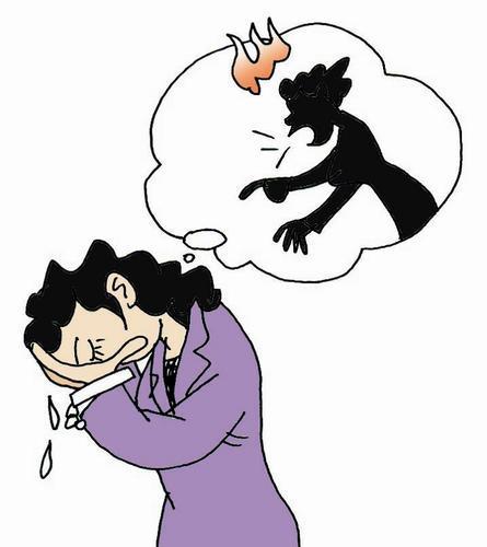 因为四岁的女儿文文(化名)经常将大小便拉在裤子里,白天睡觉晚上哭闹图片