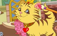女孩游戏-开心小猫