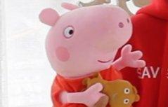 百变玩具屋粉红小猪玩具 小猪猪行李箱秒变化妆台