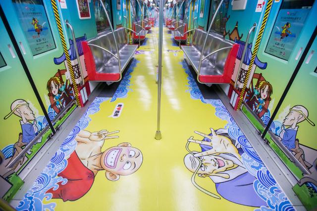 乌龙院地铁在杭州正式启程  拍照合影快来集合啦!