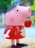 小猪佩奇给种子浇水