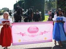 迪士尼公主们的马车驾到