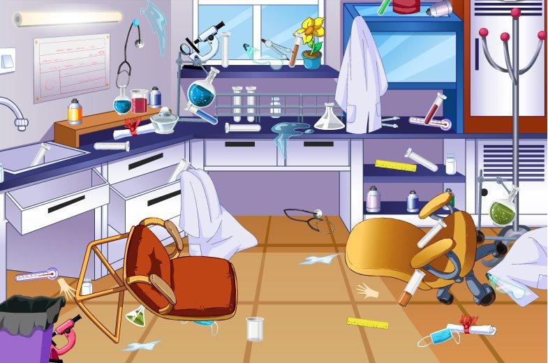 打扫实验室卫生