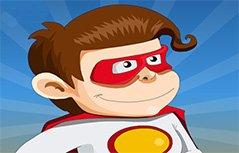 男孩游戏-小超人飞行记