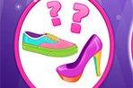芭比设计可爱鞋子