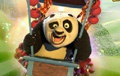 男孩游戏:功夫熊猫火箭飞车