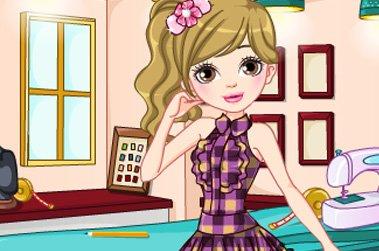 可爱公主裙作品卡通图片