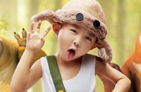 ABC KIDS潮童范儿 潮穿越:真人版光头强现身