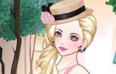 女孩游戏:摘花女孩
