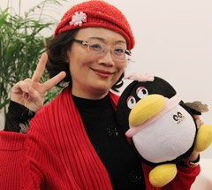 组图:CCBF国际童书展 台中办事处主任张铃雪访谈