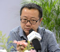 组图:CCBF国际童书展 科幻作家刘慈欣访谈