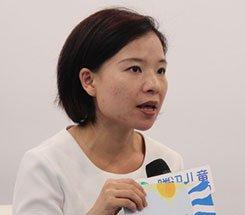 组图:CCBF国际童书展 云想家培训主管白玉樱接受采访