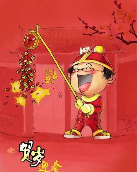(四年级作文)热闹的春节