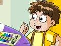 外星宝宝找文具·英语学习
