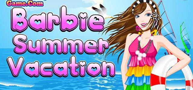 女孩游戏-芭比沙滩踏浪