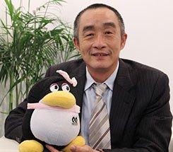 组图:CCBF国际童书展 庆年集团总裁王光彬接受采访