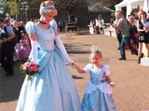 小公主迎接美丽的仙蒂公主