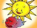 北风和太阳·英语故事