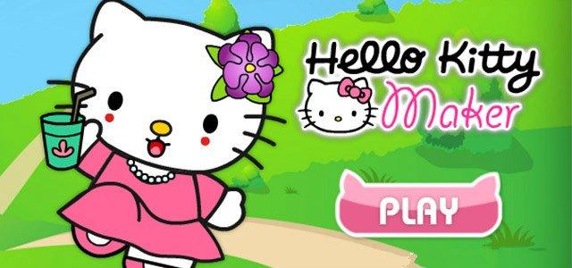 女孩游戏-百变凯蒂猫换装