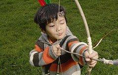 印度3岁女童创射箭记录