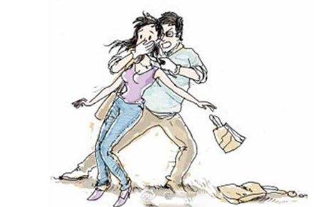 青岛陌生男子街头拉拽女错误3名初中生围圈阻英语初中常见教师句子图片