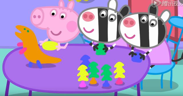 小猪佩奇:做陶器图片
