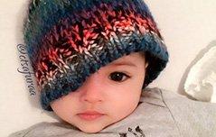 组图:瑞典宝宝自带美颜效果走红