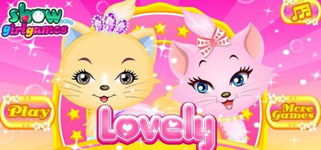 女孩游戏-萌猫公主