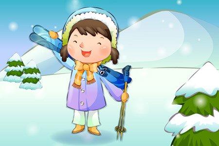(网友投稿)雪中的那份童真
