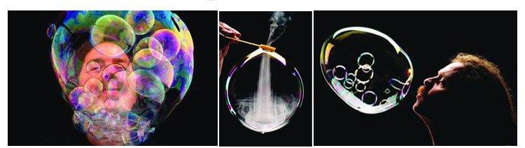 如何吹超大号肥皂泡