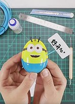 拆完的蛋壳还可以做手工