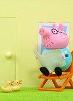 粉红猪玩具故事