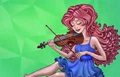 女孩游戏-小提琴演奏