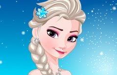 女孩游戏:冰雪女王美发