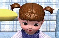女孩动画:小豆妮成长记
