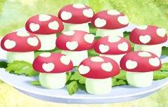 宝宝美食:鹌鹑蛋小蘑菇