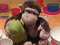 组图:爱心养父创意餐桌摆设 让孩子每天感受童话世界