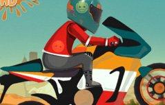 男孩游戏:特技摩托车闯关