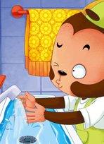 袋鼠跳跳·哗啦哗啦来洗手