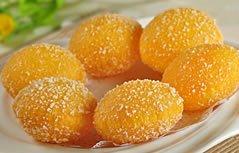 小手指爱美食-小巧玲珑南瓜饼
