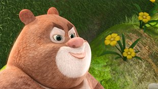 熊熊乐园:肚子的西瓜