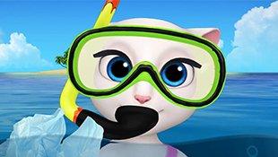 会说话的汤姆猫家族:安吉拉环保小贴士